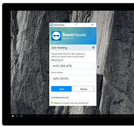 Utilizaţi QuickJoin pentru a participa cu uşurinţă la şedinţe şi prezentări online.