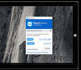 Utilizaţi QuickSupport pentru asistenţă la distanţă instant fără instalare.