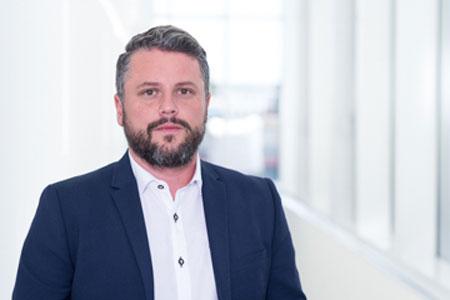 Patryk Wlodarczyk, Vice President, Information Technologies.