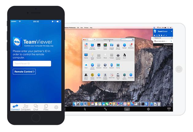 Upotrebljavajte TeamViewer za daljinsko povezivanje s iOS uređajima.