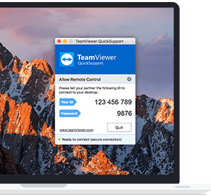 Använd QuickSupport för att få omedelbar fjärrsupport utan installation.