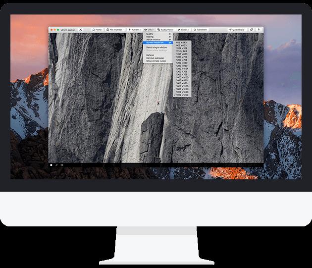 Använd TeamViewer för inkommande och utgående fjärranslutningar.