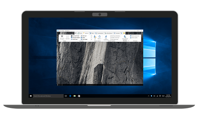 Use TeamViewer for incoming and outgoing remote desktop support or to connect to a PC.