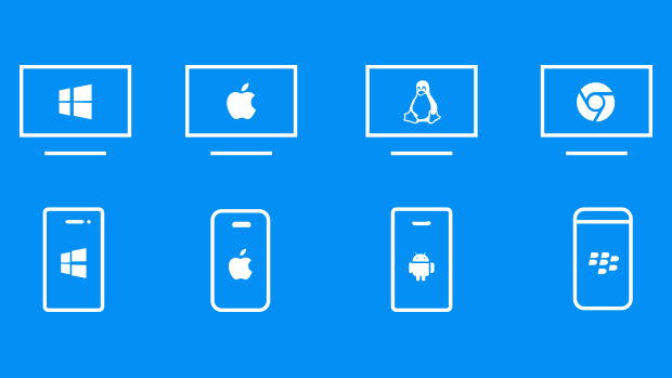Show your screen independent from which device or OS you are using.