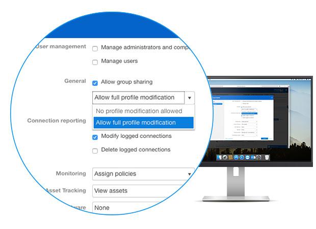Усовершенствованный механизм управления полномочиями пользователей