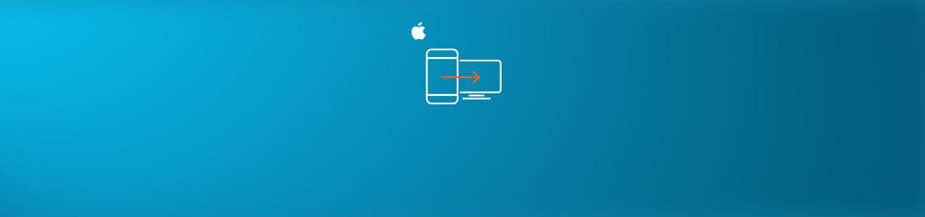 Совместный доступ к экрану iPhone в режиме реального времени
