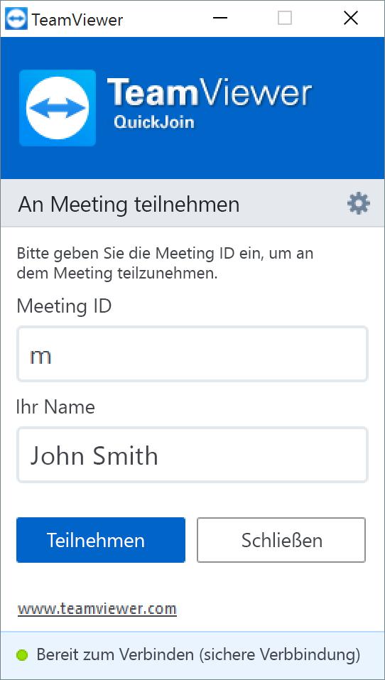 An Meetings teilnehmen - ohne Installation.