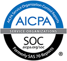 SOC2 logo.