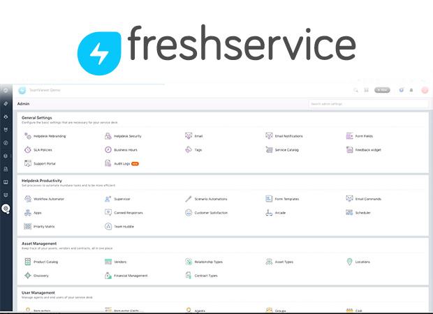Στιγμιότυπο οθόνης Freshdesk