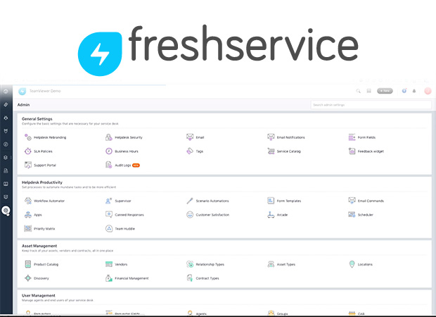 Screenshot Freshdesk