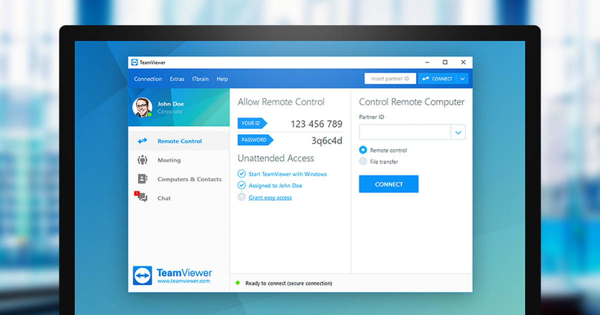 Teamviewer free download 12.1