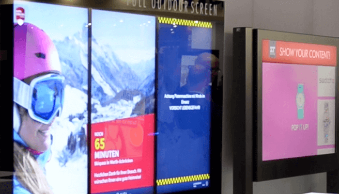 Philips digital signage and TeamViewer