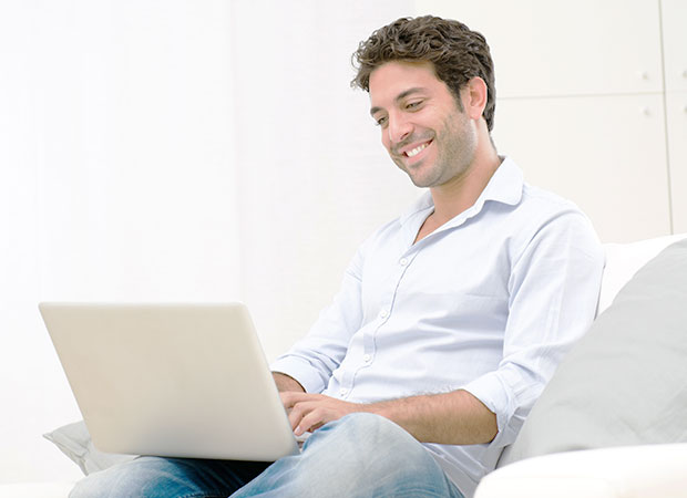 An IT admin employee remotely accessing a server for maintenance