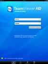 TeamViewer HD sur iPad