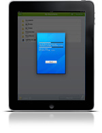 TeamViewer Filetransfer on the iPad