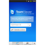 Screenshot of TeamViewer 7 Android remote control app