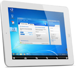 remote controlling Windows via TeamViewer iPad app
