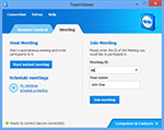 Main window meeting of TeamViewer 8