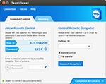 TeamViewer 8 Linux main window