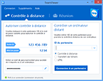 TeamViewer Main Dialog Remote Control