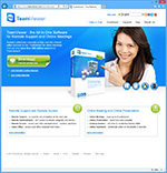 Sitio web TeamViewer