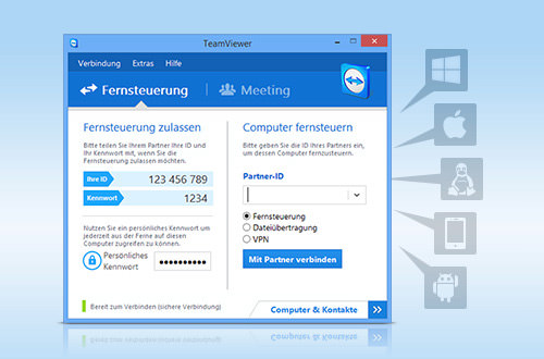 TeamViewer is your alternative to LogMeIn