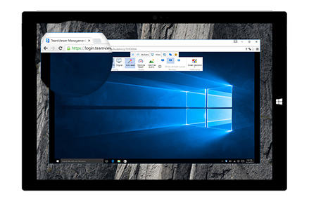 how to connect to another computer with teamviewer