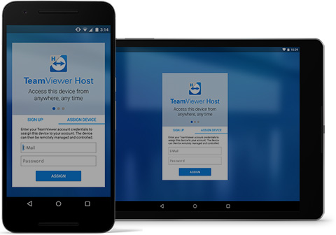 TeamViewer Host está disponible actualmente para Android