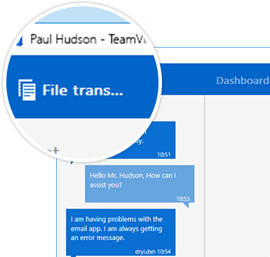 Transfer files from your PC to a mobile device and vice-versa