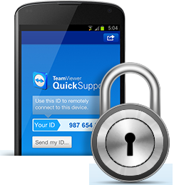 Highest security standard with TeamViewer