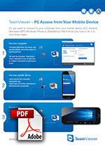 TeamViewer for mobile devices - first steps
