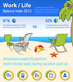 Working During Vacation Infographic by TeamViewer (preview)