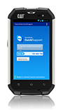TeamViewer Quicksupport on CAT Phone