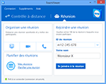 TeamViewer Main Dialog Meeting