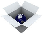 All-In-One, globe in a box