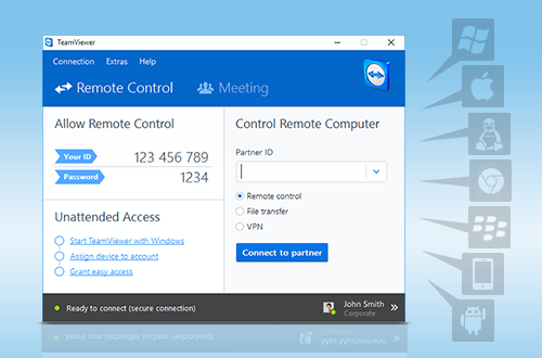 لتحكم بجهازك {TeamViewer.10.0.4{Premium Corporate بوابة 2014,2015 remotecontrol.png