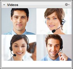 виджет нескольких веб-камер