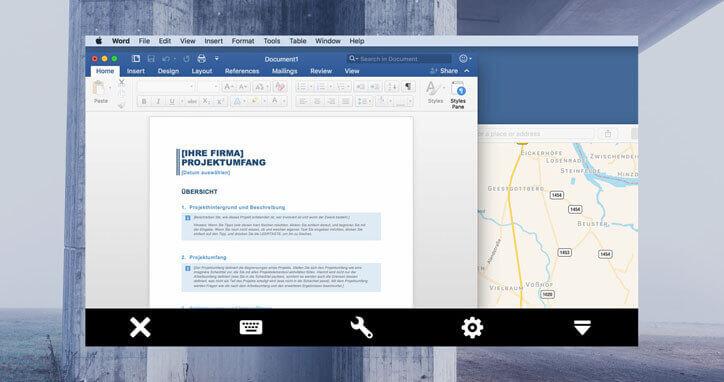 TeamViewer cross-platform computer control