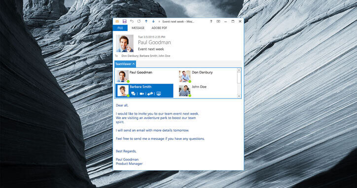 integrate outlook