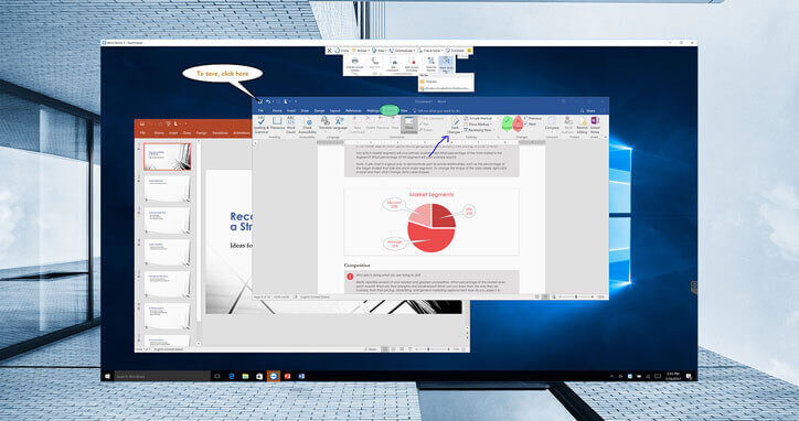 multiple user remote desktop on windows