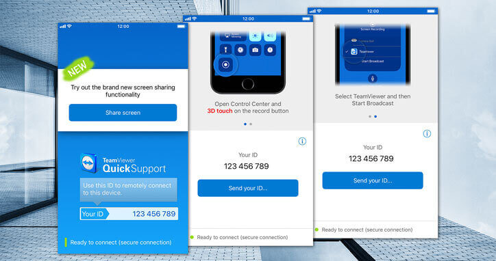 Provide Remote Support for iOS Mobile Devices TeamViewer