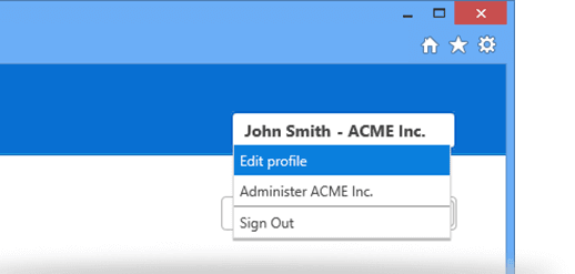 Open your profile settings in the TeamViewer Management Console | Screenshot