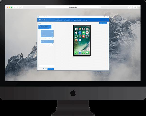 Teamviewer Use Case Support Für Mobilgeräte