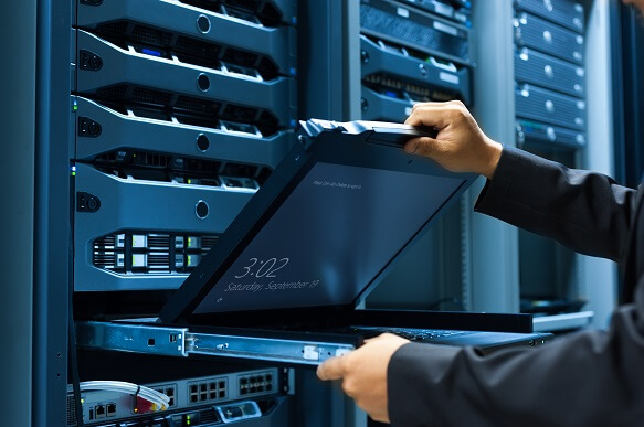 IT admins control servers remotely