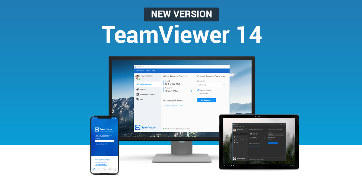 TeamViewer 14 here  | Download Now