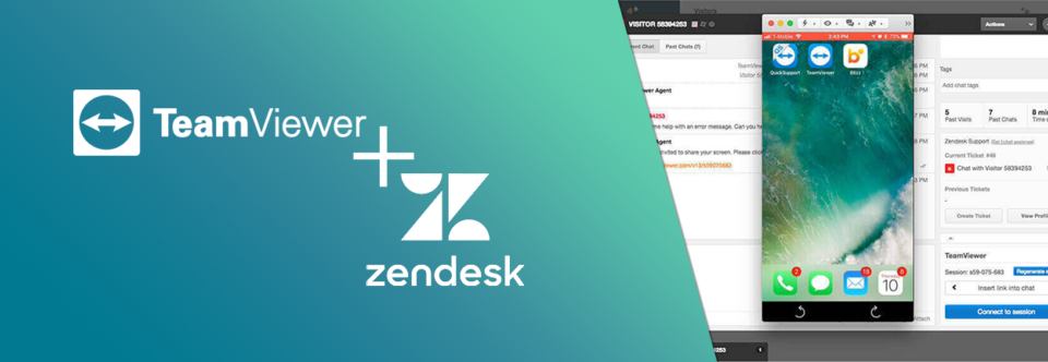 Omnichannel-Support-with-Zendesk-and-TeamViewer