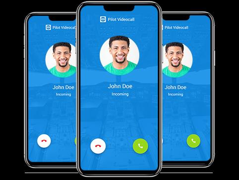 iphone'da TeamViewer yazılımı tarafından ücretsiz görüntülü sohbet