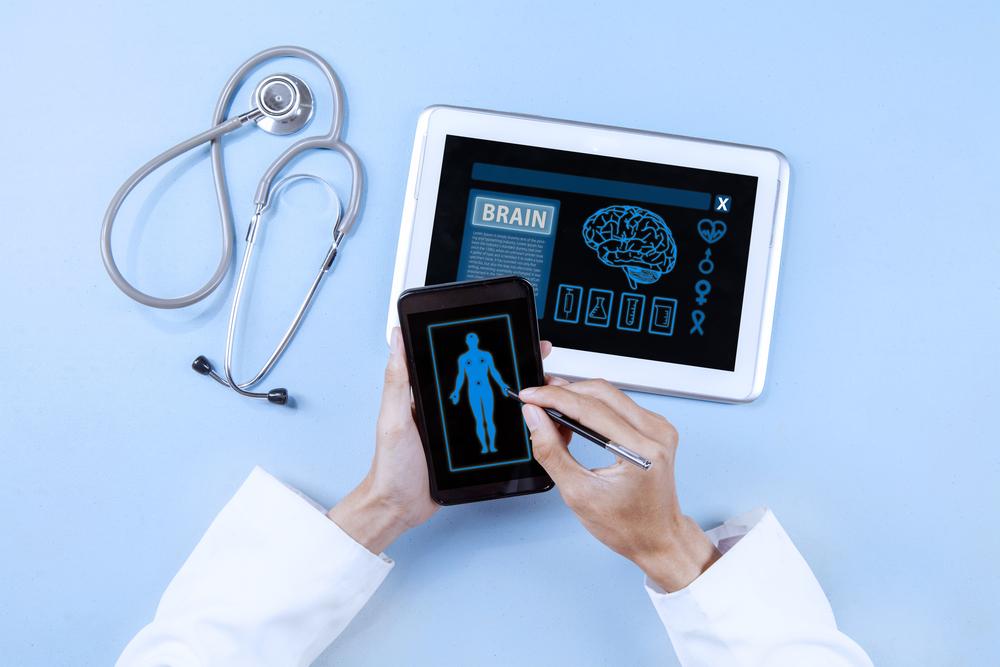 high tech doctor image
