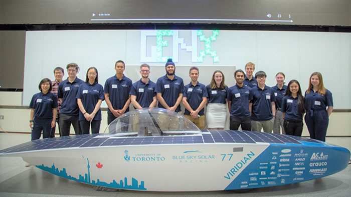 Image of Blue Sky Solar Racing Team - University of Toronto