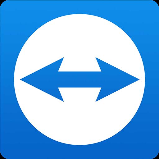 TeamViewer Logo – Klick führt zur Website des Anbieters